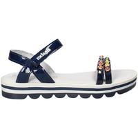 Topánky Dievčatá Sandále Melania ME6162F8E.A Modrá