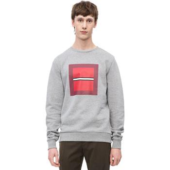 Oblečenie Muži Mikiny Calvin Klein Jeans K10K102722 Šedá