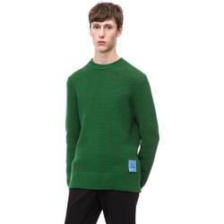 Oblečenie Muži Svetre Calvin Klein Jeans K10K102731 Zelená