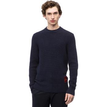 Oblečenie Muži Svetre Calvin Klein Jeans K10K102731 Modrá