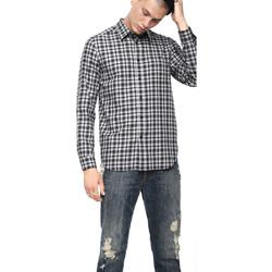 Oblečenie Muži Košele s dlhým rukávom Diesel 00SLNG 0TATG čierna