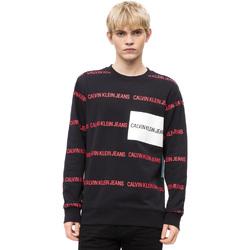 Oblečenie Muži Svetre Calvin Klein Jeans J30J309796 čierna
