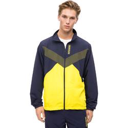 Oblečenie Muži Vrchné bundy Calvin Klein Jeans 00GMF8O518 Modrá