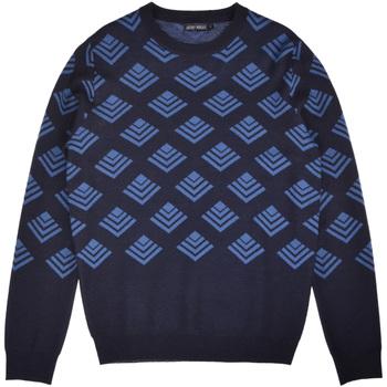 Oblečenie Muži Svetre Antony Morato MMSW00859 YA400006 Modrá