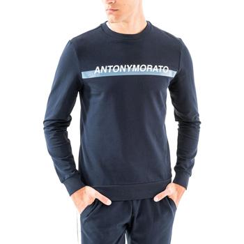 Oblečenie Muži Mikiny Antony Morato MMFL00454 FA150048 Modrá