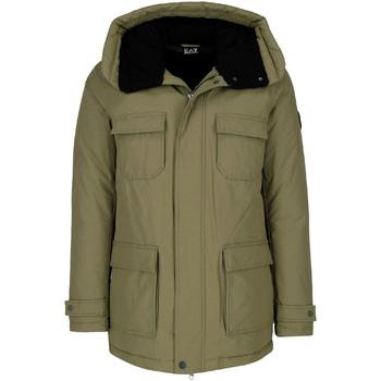 Oblečenie Muži Parky Ea7 Emporio Armani 6ZPK05 PNN5Z Zelená