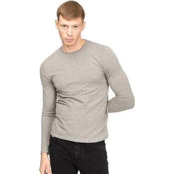 Oblečenie Muži Tričká s dlhým rukávom Gas 300187 Šedá