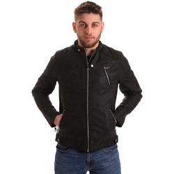 Oblečenie Muži Bundy  Gaudi 821BU38005 čierna