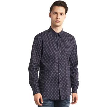 Oblečenie Muži Košele s dlhým rukávom Gaudi 821BU45005 Šedá