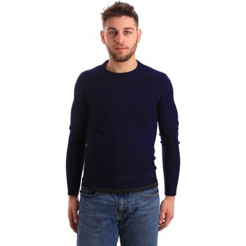 Oblečenie Muži Svetre Gaudi 821BU53043 Modrá