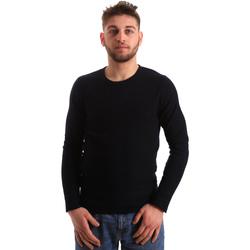 Oblečenie Muži Svetre Gaudi 821FU53016 Modrá