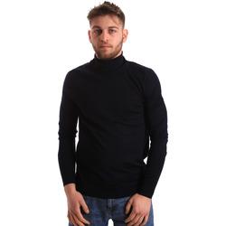 Oblečenie Muži Svetre Gaudi 821FU53083 Modrá