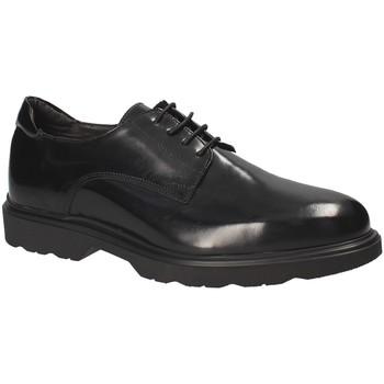 Topánky Muži Derbie Exton 1680 čierna