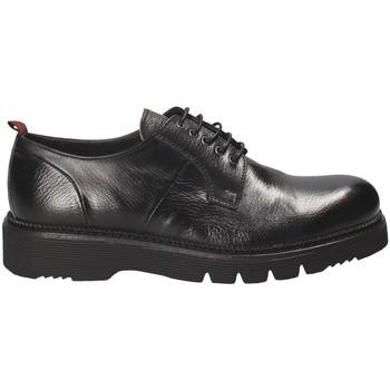 Topánky Muži Derbie Exton 390 čierna
