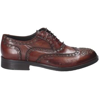 Topánky Muži Derbie Exton 5358 Hnedá