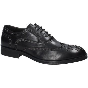 Topánky Muži Derbie Exton 5358 čierna