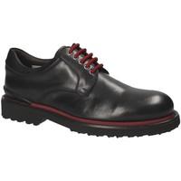 Topánky Muži Derbie Exton 940 čierna