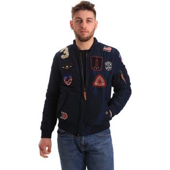 Oblečenie Muži Bundy  U.S Polo Assn. 50353 52252 Modrá