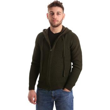 Oblečenie Muži Cardigany U.S Polo Assn. 50519 52229 Zelená