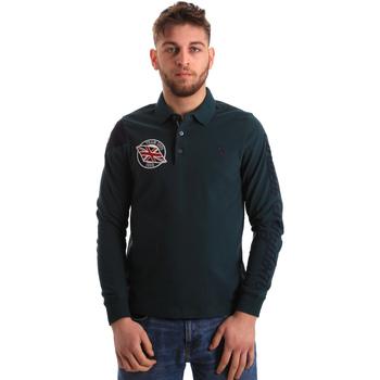 Oblečenie Muži Polokošele s dlhým rukávom U.S Polo Assn. 50615 47773 Zelená