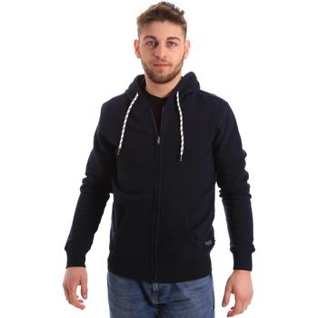 Oblečenie Muži Mikiny Key Up 2F01I 0001 Modrá