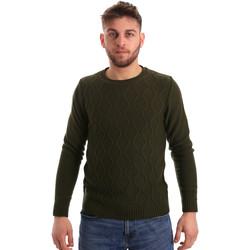 Oblečenie Muži Svetre Bradano 155 Zelená
