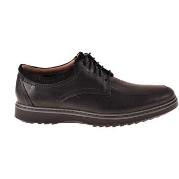Topánky Muži Derbie Clarks 136802 čierna