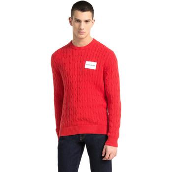 Oblečenie Muži Svetre Calvin Klein Jeans J30J307800 Červená
