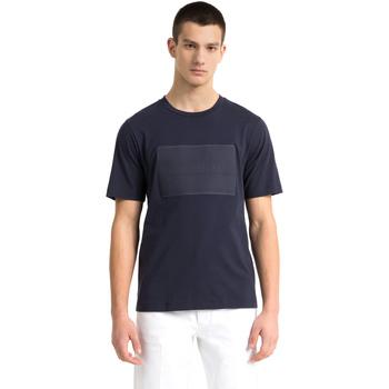 Oblečenie Muži Tričká s krátkym rukávom Calvin Klein Jeans J30J307868 Modrá