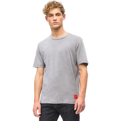 Oblečenie Muži Tričká s krátkym rukávom Calvin Klein Jeans J30J309616 Šedá