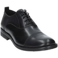 Topánky Muži Richelieu Exton 9554 čierna