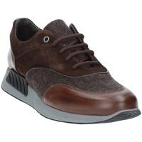 Topánky Muži Nízke tenisky Exton 161 Hnedá