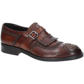 Topánky Muži Derbie Exton 5359 Hnedá