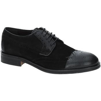 Topánky Muži Derbie Exton 5356 čierna