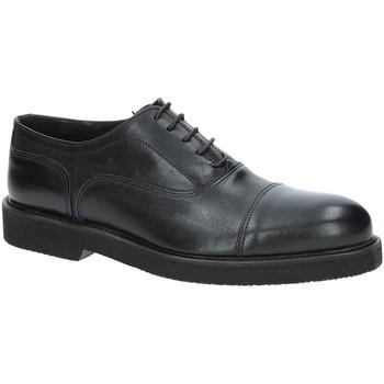 Topánky Muži Richelieu Exton 5496 čierna