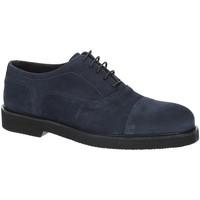 Topánky Muži Richelieu Exton 5496 Modrá