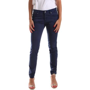 Oblečenie Ženy Nohavice päťvreckové Gaudi 911BD25010 Modrá