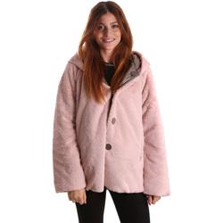 Oblečenie Ženy Parky Byblos Blu 689104 Ružová