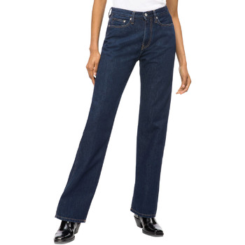 Oblečenie Ženy Rovné Rifle  Calvin Klein Jeans J20J207612 Modrá