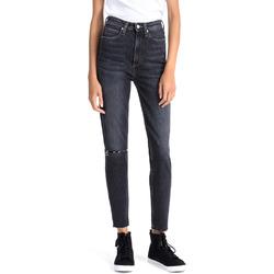 Oblečenie Ženy Rifle  Boyfriend  Calvin Klein Jeans J20J207652 Modrá