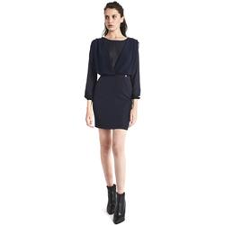 Oblečenie Ženy Krátke šaty Gaudi 821BD15021 Modrá