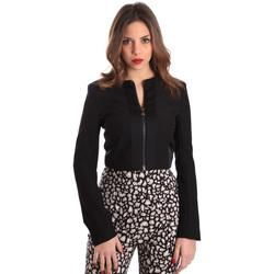 Oblečenie Ženy Saká a blejzre Gaudi 821FD35003 čierna