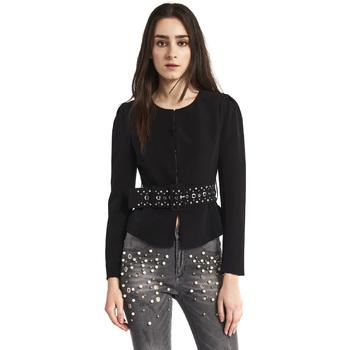 Oblečenie Ženy Saká a blejzre Gaudi 821FD35004 čierna