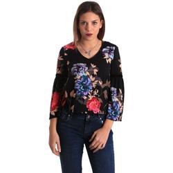 Oblečenie Ženy Blúzky Gaudi 821FD45009 čierna