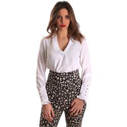 Oblečenie Ženy Blúzky Gaudi 821FD45014 Biely