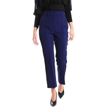 Oblečenie Ženy Nohavice Chinos a Carrot Denny Rose 821DD20001 Modrá