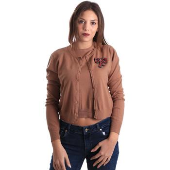 Oblečenie Ženy Cardigany Denny Rose 821DD50100 Béžová