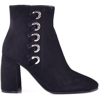Topánky Ženy Čižmičky Elvio Zanon I0603P.ELZAVTNENER čierna