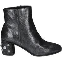 Topánky Ženy Čižmičky Elvio Zanon I5503G.ELZMPHANTRA čierna