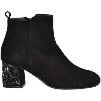 Topánky Ženy Čižmičky Melluso Z801E čierna